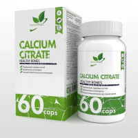 Кальций NaturalSupp Calcium Citrate, 60 капс
