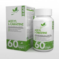 Карнитин NaturalSupp Acetyl L-carnitine, 60 капс