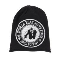 "Шапка для бодибилдинга Gorilla Wear ""Oxford"" Beanie, черная"