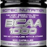 BCAA Scitec Nutrition BCAA 1000 300 капc.